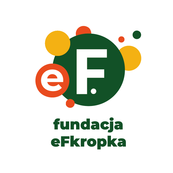 Logo Fundacji eFkropka