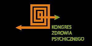 Logo Kongresu Zdrowia Psychicznego – strzałka przecinająca labirytn